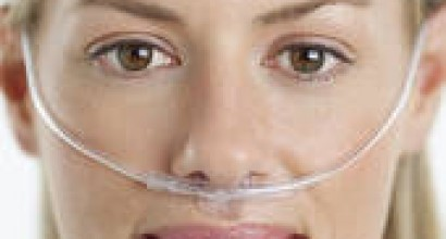 Picture of lady with oxygen